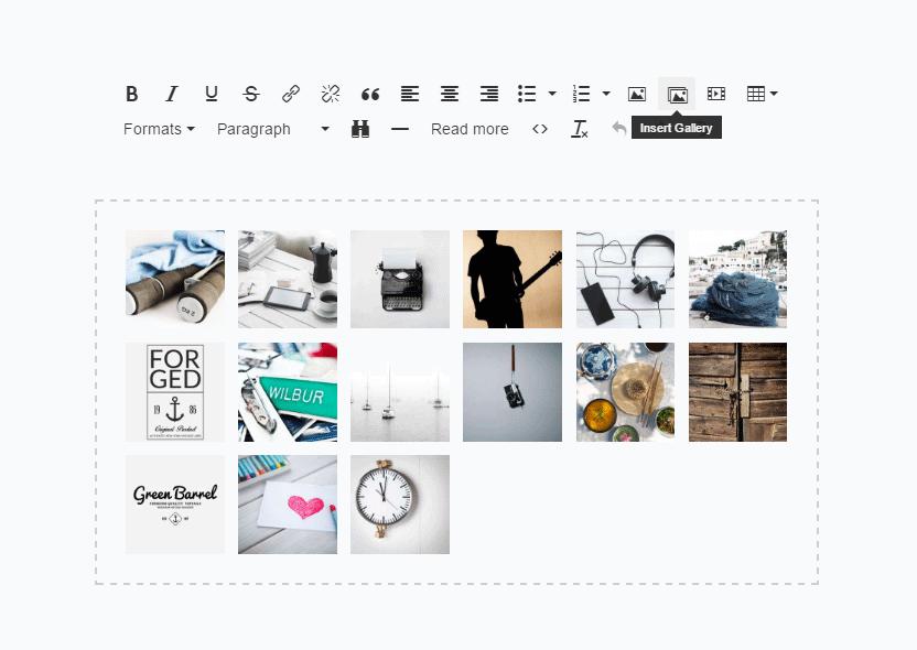 Publi Gallery based on Photoswipe