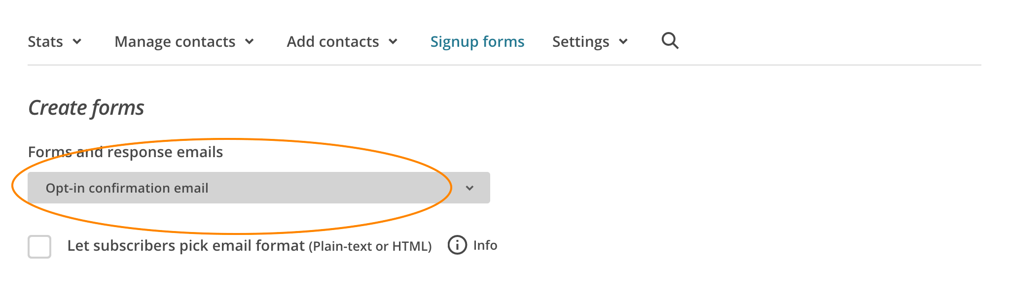 Creating Mailchimp Newsletter Gdpr Compliance With Opt In Signup Form